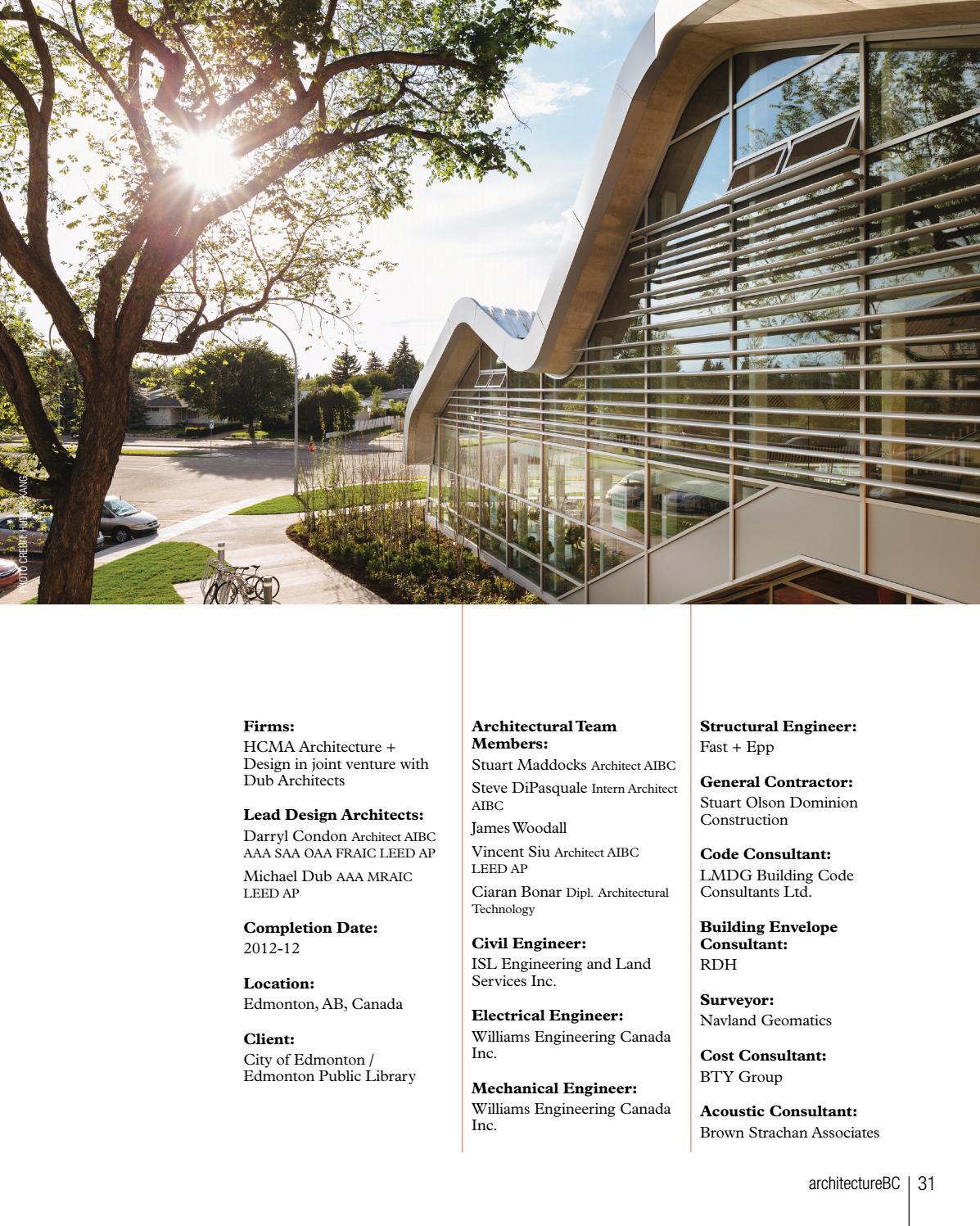 architectureBC 2016 by AIBC - Issuu