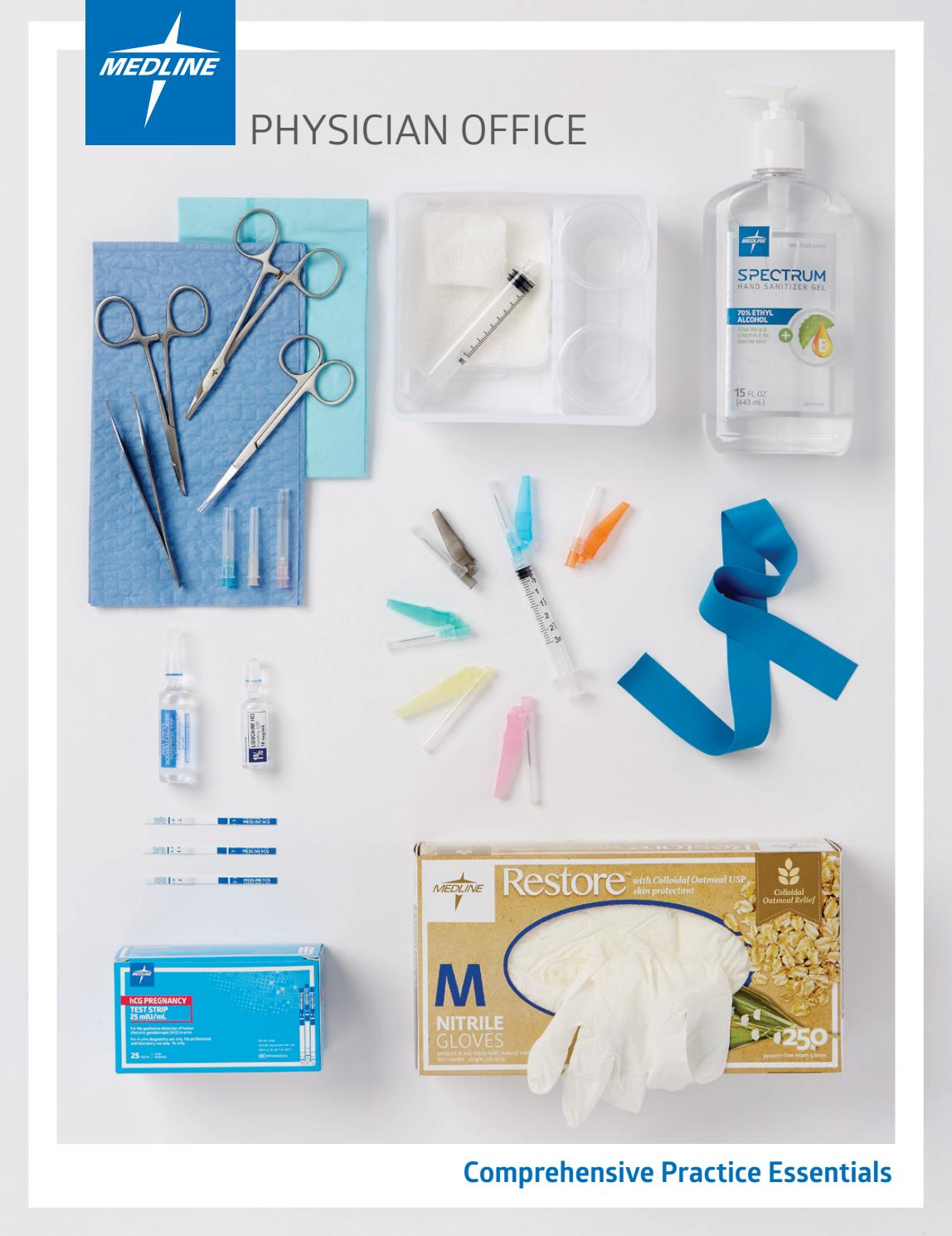 Physician Office And Laboratory Products Guide 2016 17 By Mercedes Fitti Rainbow Regular S 12x12 12 Bags Medical Issuu