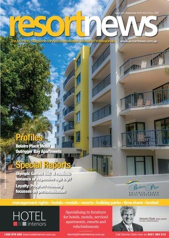 Page 1  sc 1 st  Issuu & Resort News - September 2016 by Resort Publishing - issuu