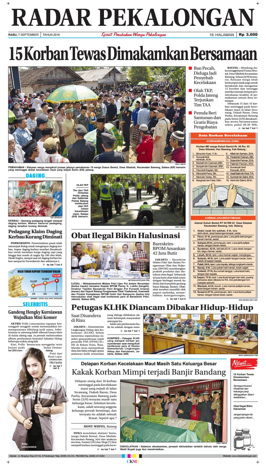 Radar Pekalongan 11 Desember 2014 By Issuu Rkb Tegal Madu Mongso 7 September 2016
