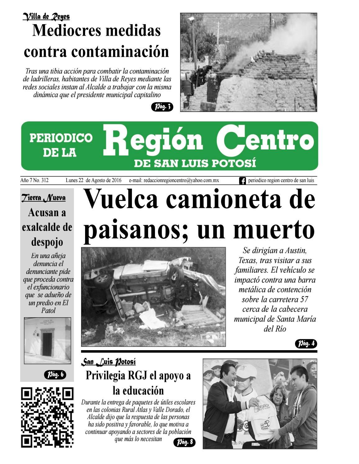 Periódico Región Centro de San Luis edición # 0312 by Periódico ...