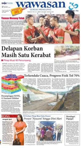 wawasan 07 september 2016 by koran pagi wawasan issuu