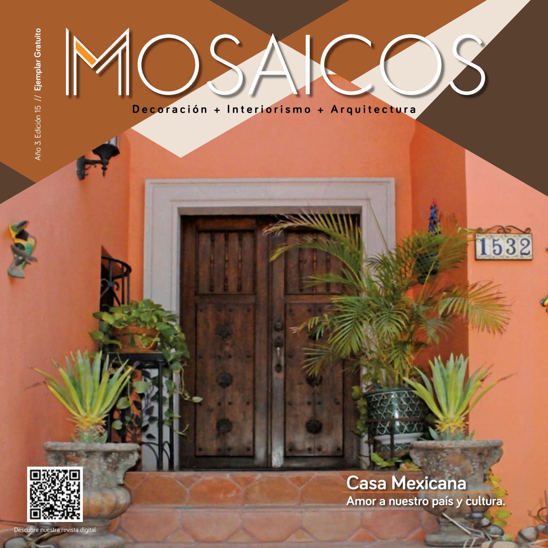 Mosaicos Edición 15 by MOSAICOS - issuu