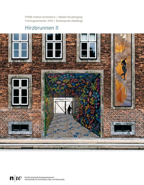 Fhnw iarch master broschuere fs15 by master architektur for Master architektur