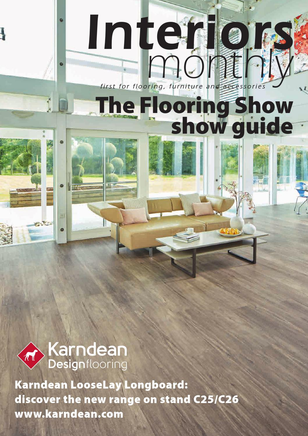 Interiors Monthly The Flooring Show 2016 Show Guide By