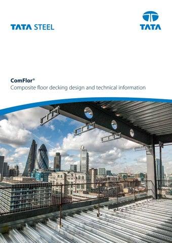 Comflor Composite Floor Deck Brochure By Tata Steel Issuu