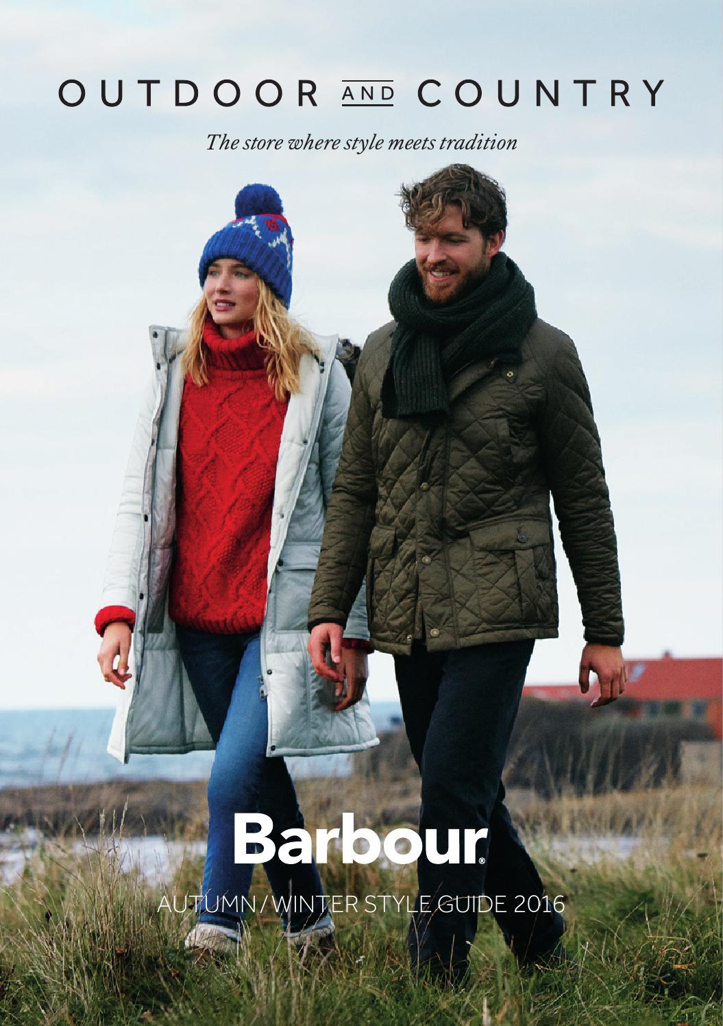 barbour winter