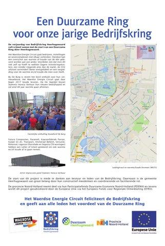 Bedrijfskring heerhugowaard 35 jaar by rodi media issuu for Stammis horeca