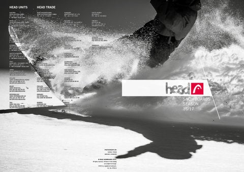 408a968e79 Catalog Head Snowboard Winter 2016 2017 by snowsport snowsport - issuu