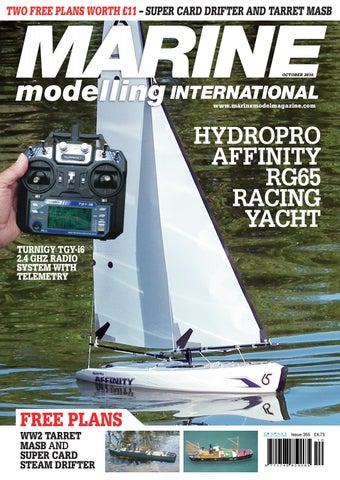 Marine modelling international october 2016 by Traplet