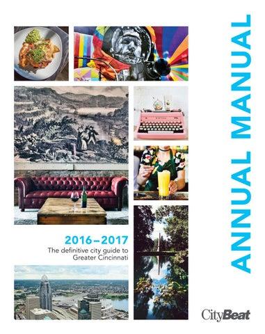 Annual Manual 2016 17 By Cincinnati Citybeat Issuu