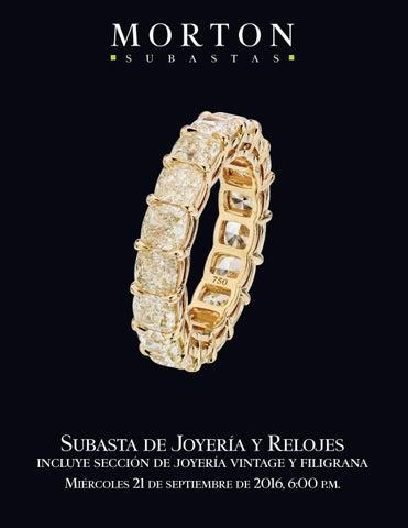 e327c45152a2 Subasta de Joyería y Relojes by Morton Subastas - issuu