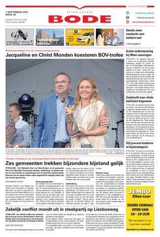 3ca628271a9 Etten-leurse Bode 07-09-2016 by Uitgeverij de Bode - issuu