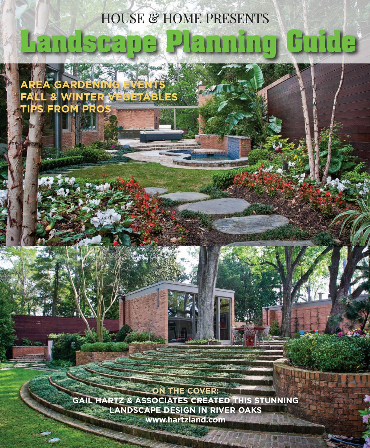Landscape 0916 Houhousehome Vir By Houston House Home Magazine Issuu