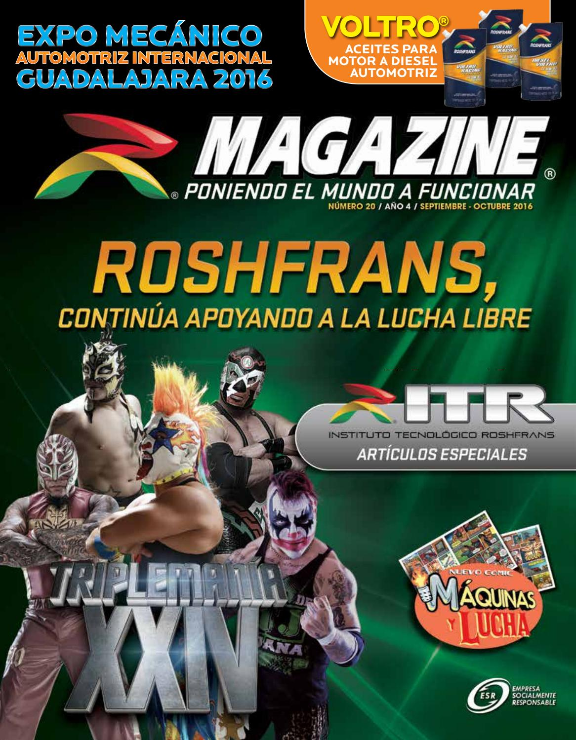 Roshfrans Magazine No. 20 by Comercial Roshfrans, S.A. de C.V. - issuu