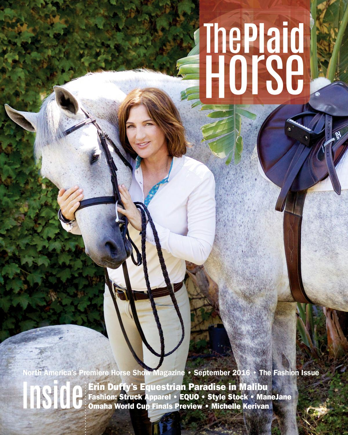 The Plaid Horse September 2016 The Fashion Issue By