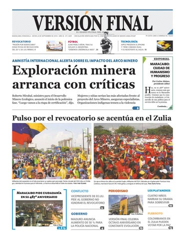 Diario Versión Final by Diario Versión Final - issuu 62f87084728