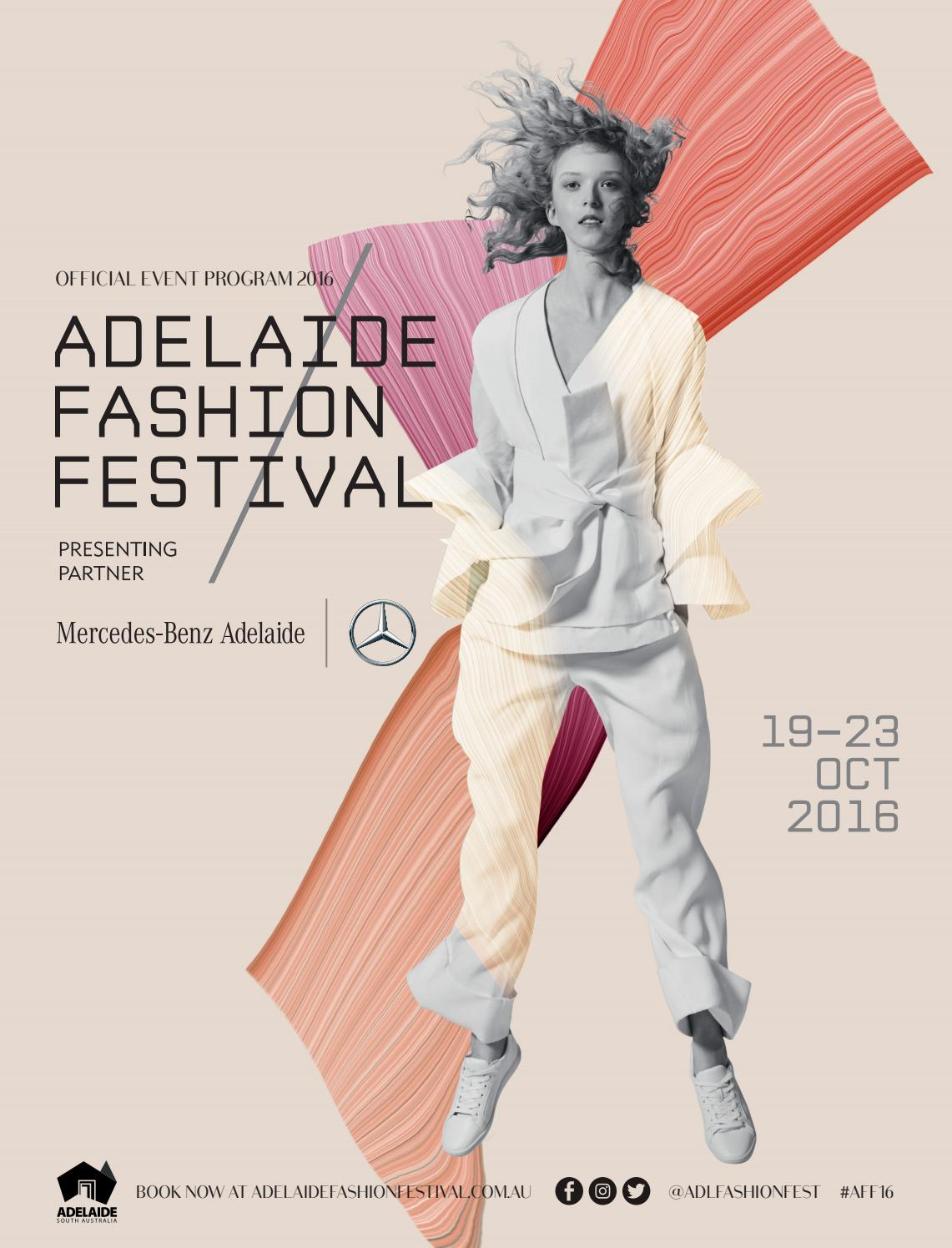 Adelaide Fashion Festival 2016 Program By Clique Mag Issuu