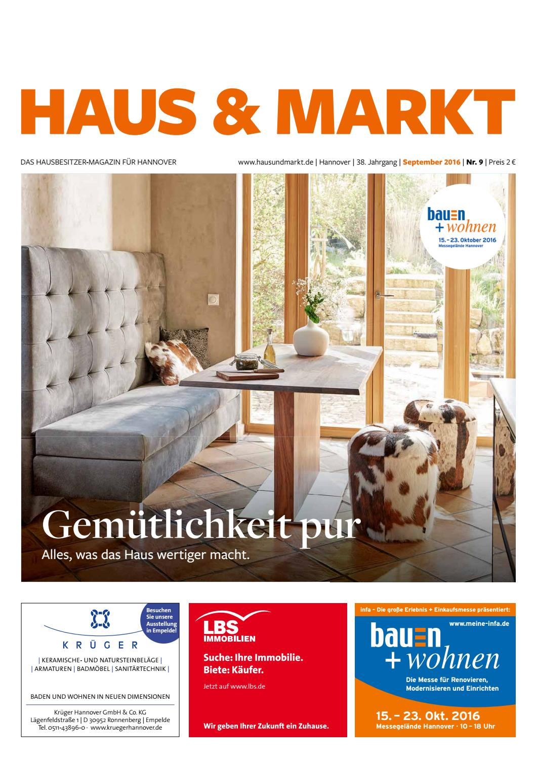 haus und markt 09 2016 by schluetersche issuu. Black Bedroom Furniture Sets. Home Design Ideas
