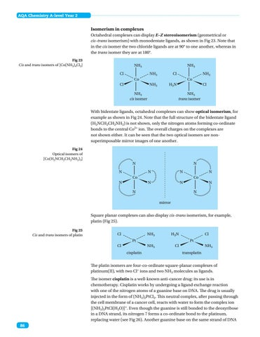 Aqa A Level Chemistry Year 2 Paper 1 By Collins Issuu