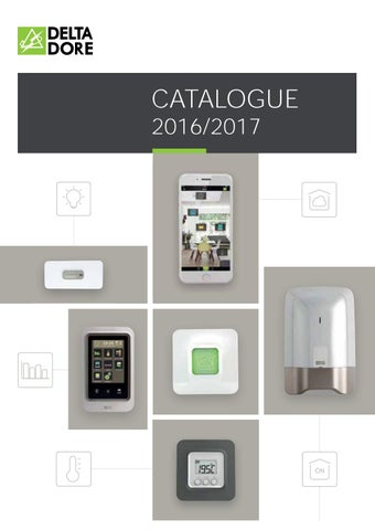Catalogue Pro Deltadore 20162017 By Flament Nicolas Issuu