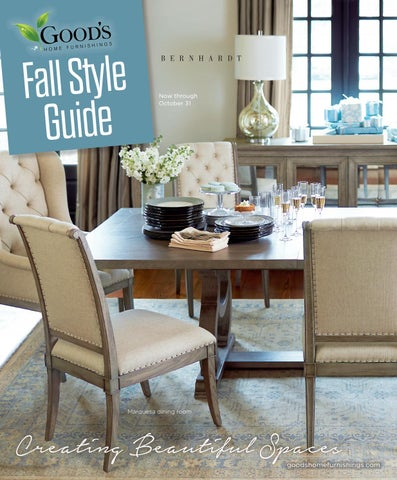 Good s Home Furnishings Fall Style Guide and Look Book. Goods Home Furnishings   issuu
