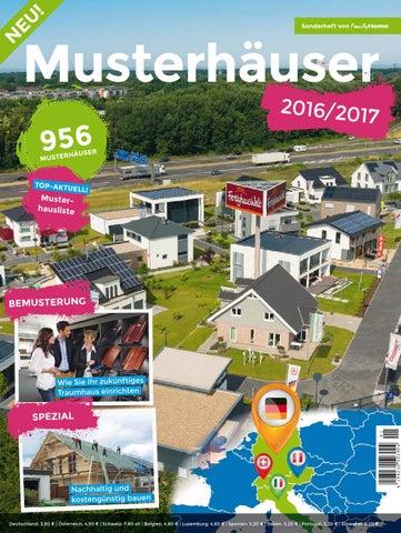 Musterhäuser 20162017 By Family Home Verlag Gmbh Issuu