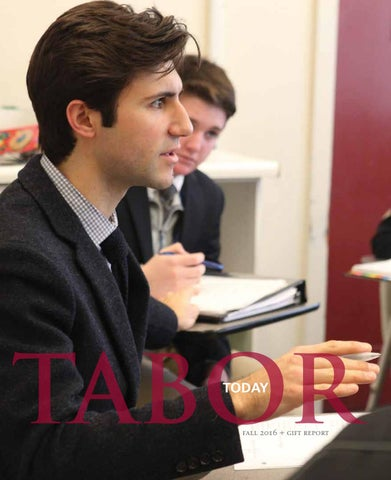 GroB Tabor Today Fall 2016 By Tabor Academy Issuu