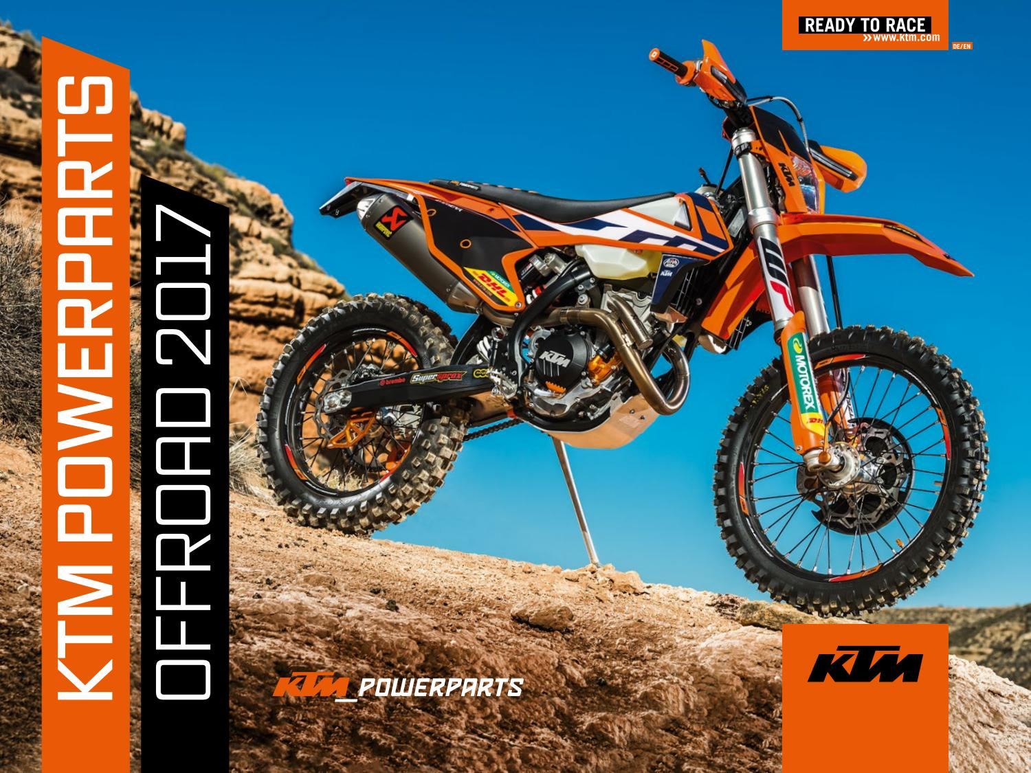 Ktm Powerparts Offroad 2017 English Deutsch By Group Issuu 525 Exc Fuse Box