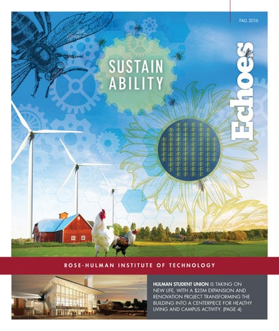 Echoes Fall 2016 By Rose Hulman Institute Of Technology Issuu