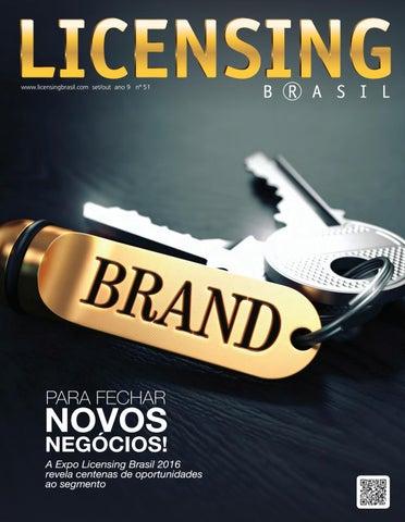 Revista Licensing Brasil  51 by EP Grupo – Agência de Conteúdo - issuu 12b3b1f7429fa