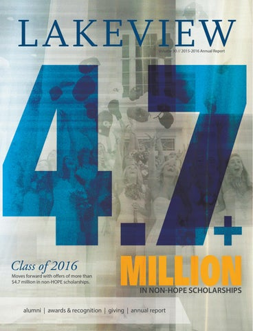 b2338cfea77 Lakeview Academy 2015-2016 Annual Report by Forum Communications - issuu