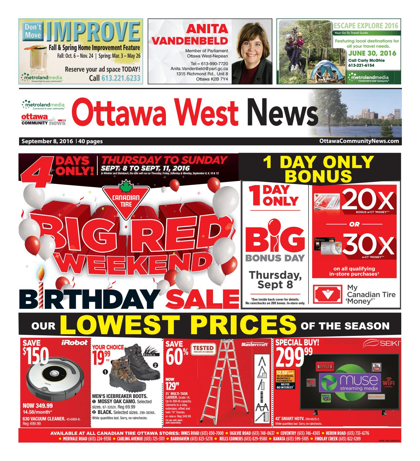 Ottawawest090816 by Metroland East - Ottawa West News - issuu