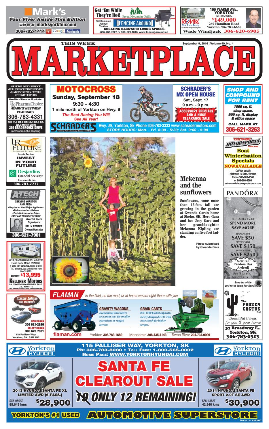 Marketplace September 9, 2016 by Yorkton This Week - issuu