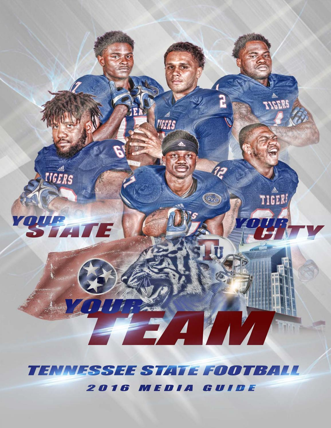 huge selection of 0a0be 5c457 2016 Tennessee State Football Media Guide by TSUTIGERS - issuu