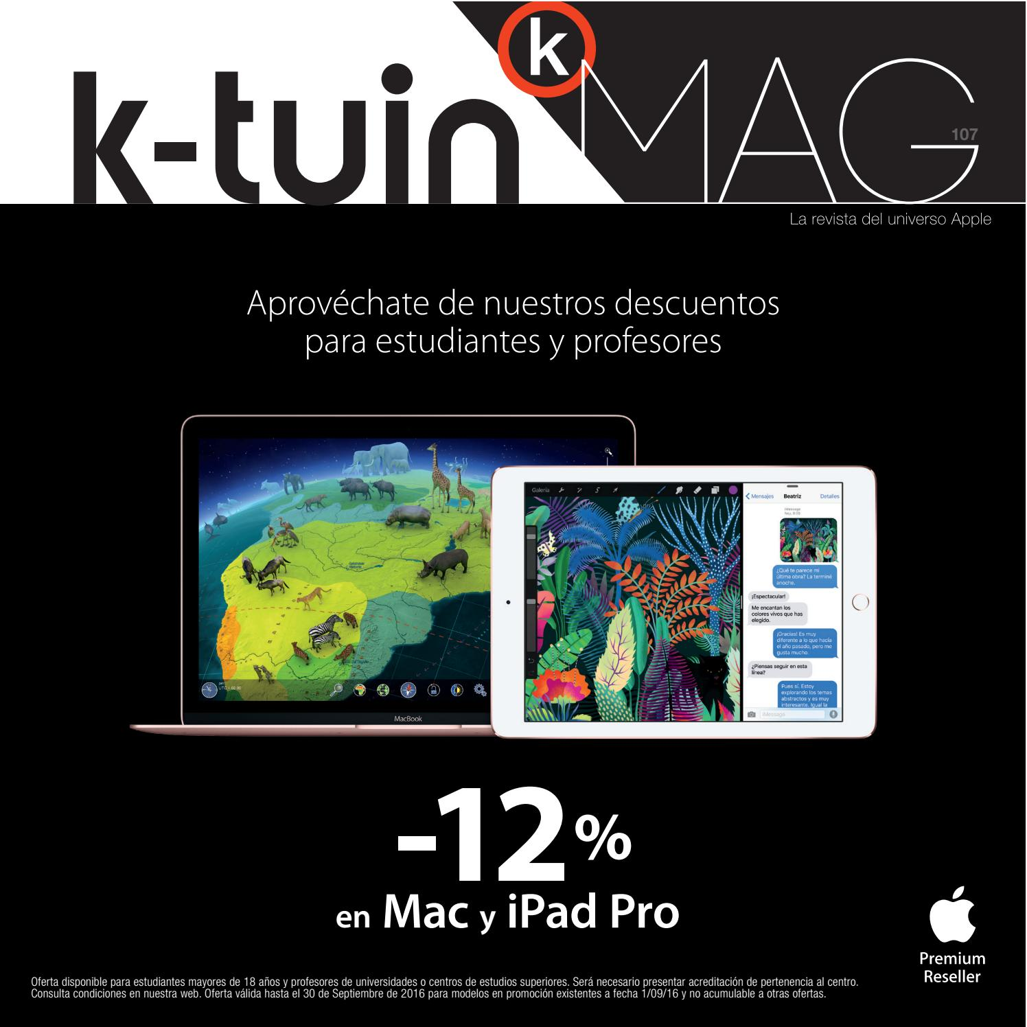 de8a56b4d K-tuin Mag 107 by K-tuin, Tiendas Apple - issuu