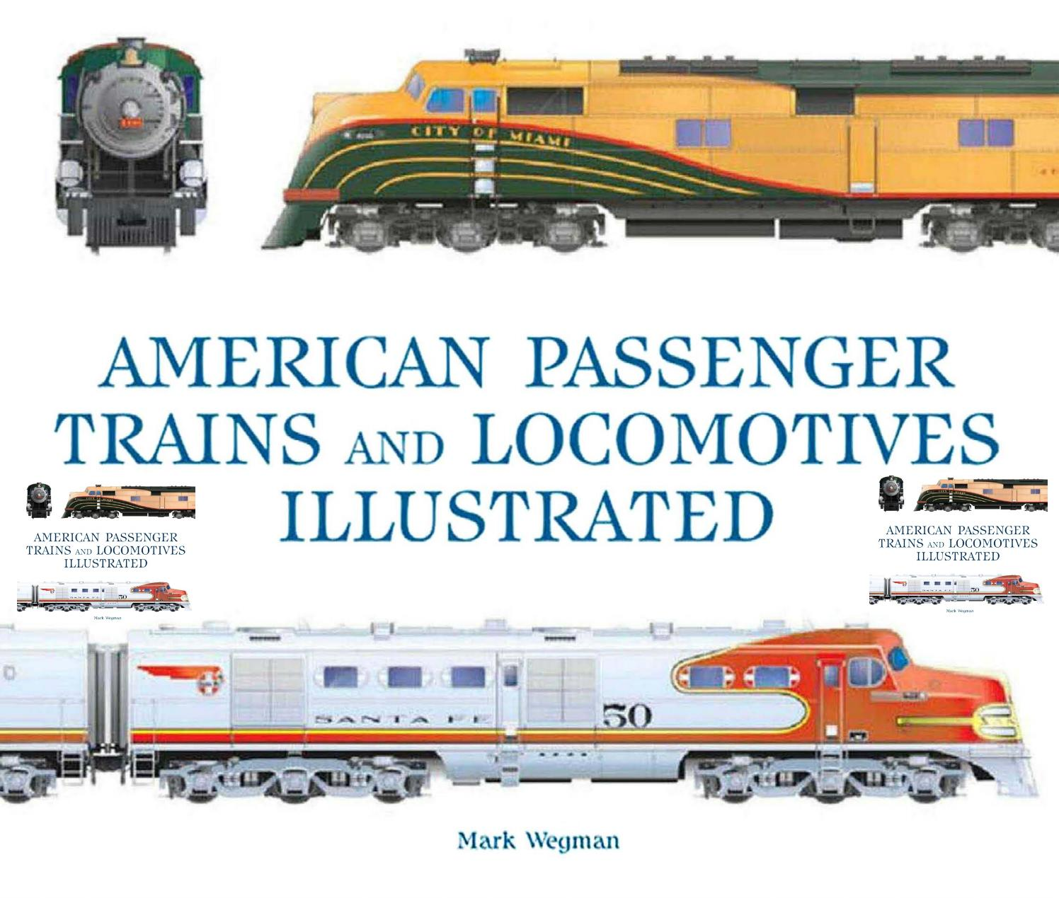 American passenger trains and locomotives (us railways
