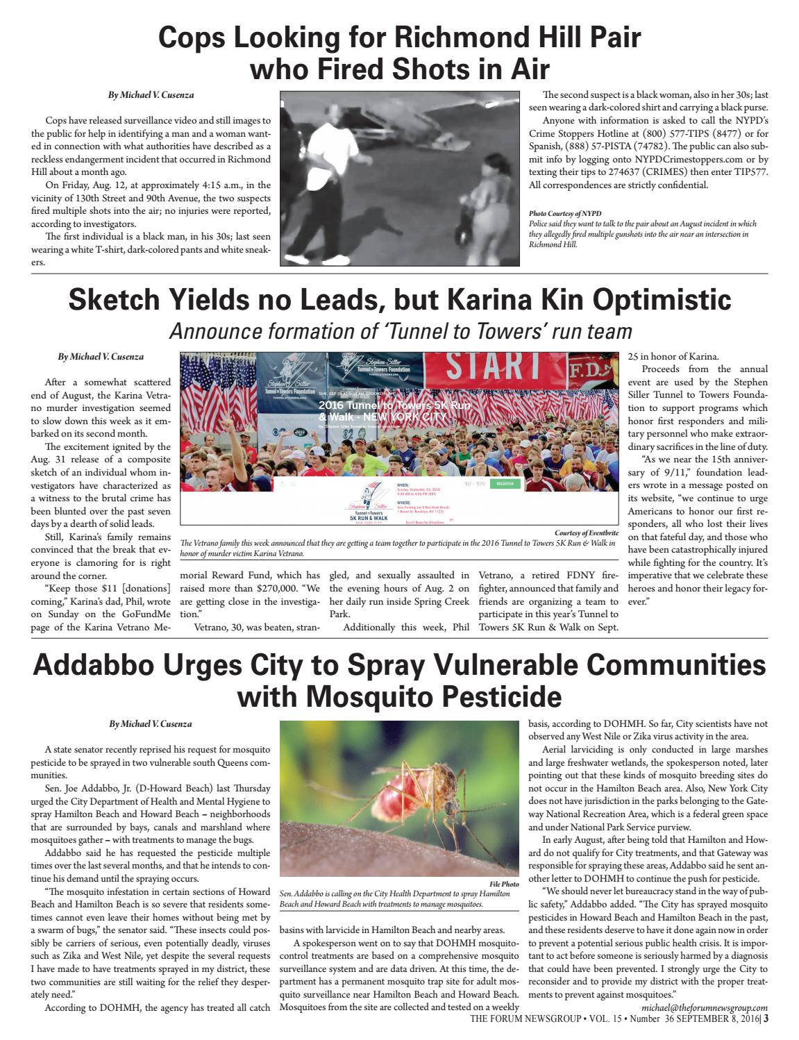 THE FORUM NEWSGROUP | SEPTEMBER 8, 2016 by Mike Kurov - issuu