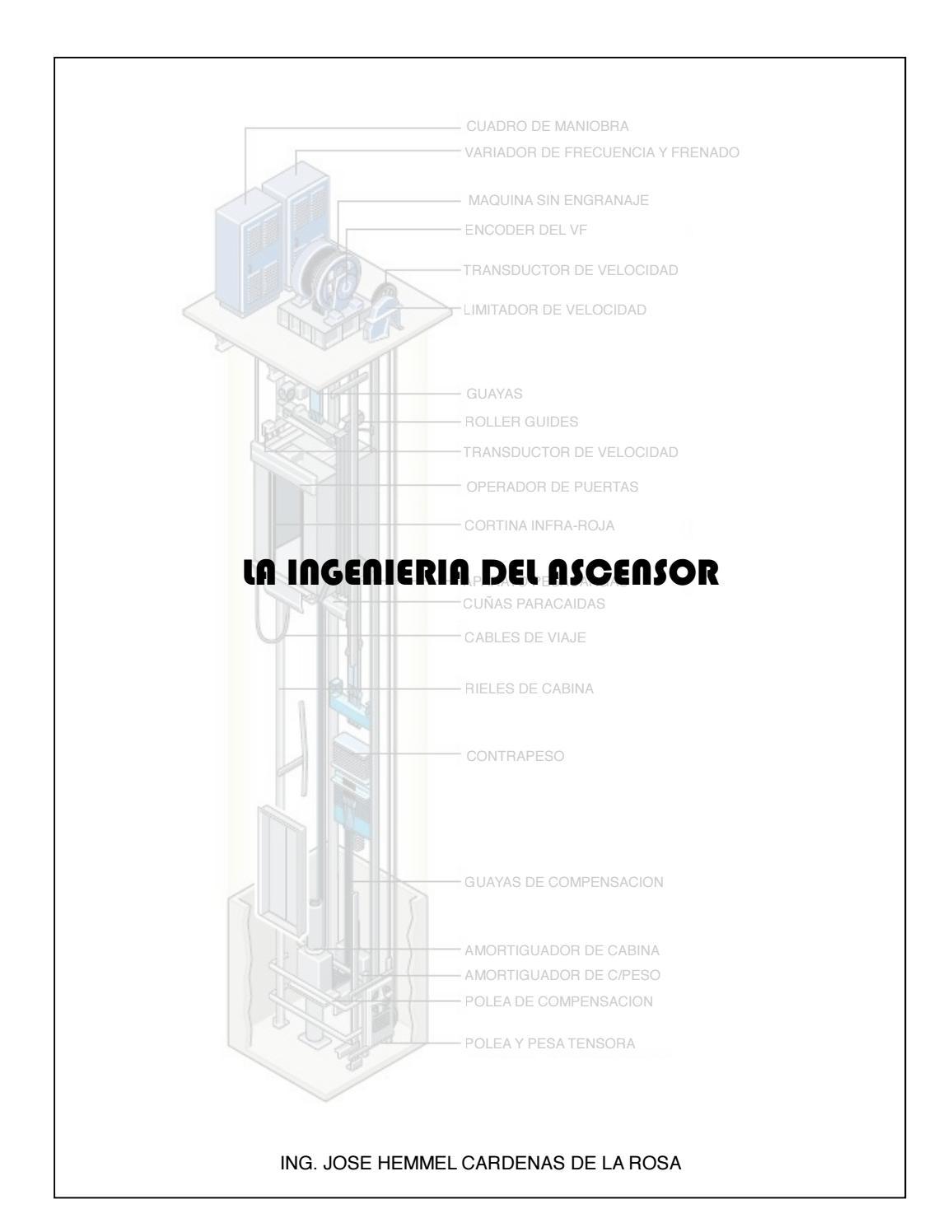 la Ingenieria del ascensor by Edgar Muñoz - issuu