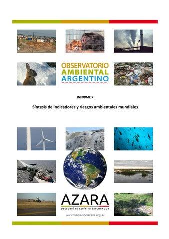 8c4c0e8b18 Observatorio Ambiental Argentino - Informe 10 by Fundación Azara - issuu