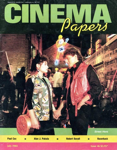 Cinema Papers July 1984 By Uow Library Issuu