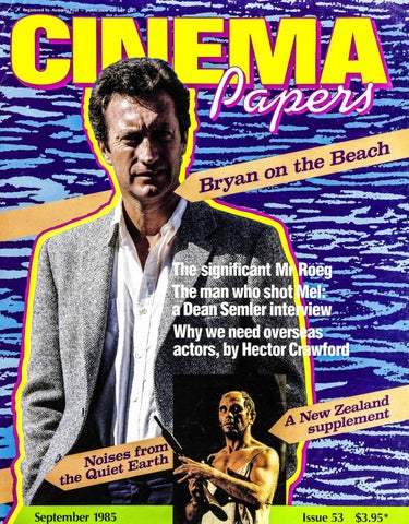 Cinema Papers September 1985 By Uow Library Issuu