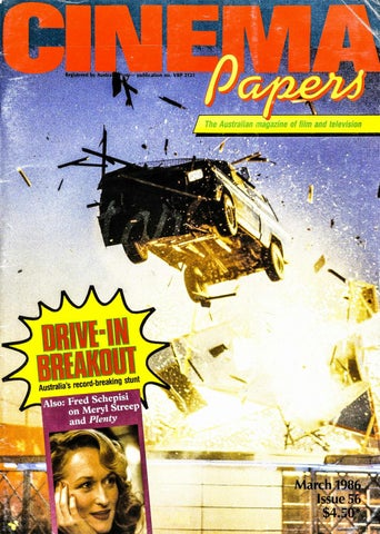 Cinema Papers March 1986 By Uow Library Issuu