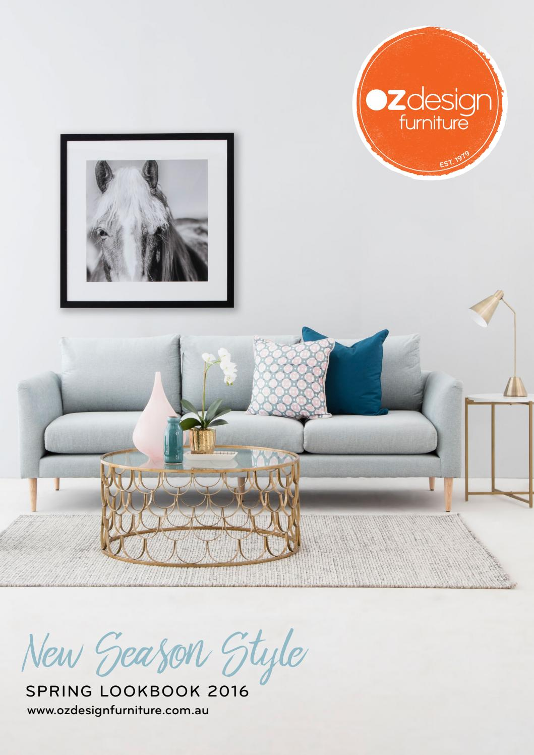 MODERN AUSTRALIAN LIVING OZ Design Furniture Winter 16 Directory