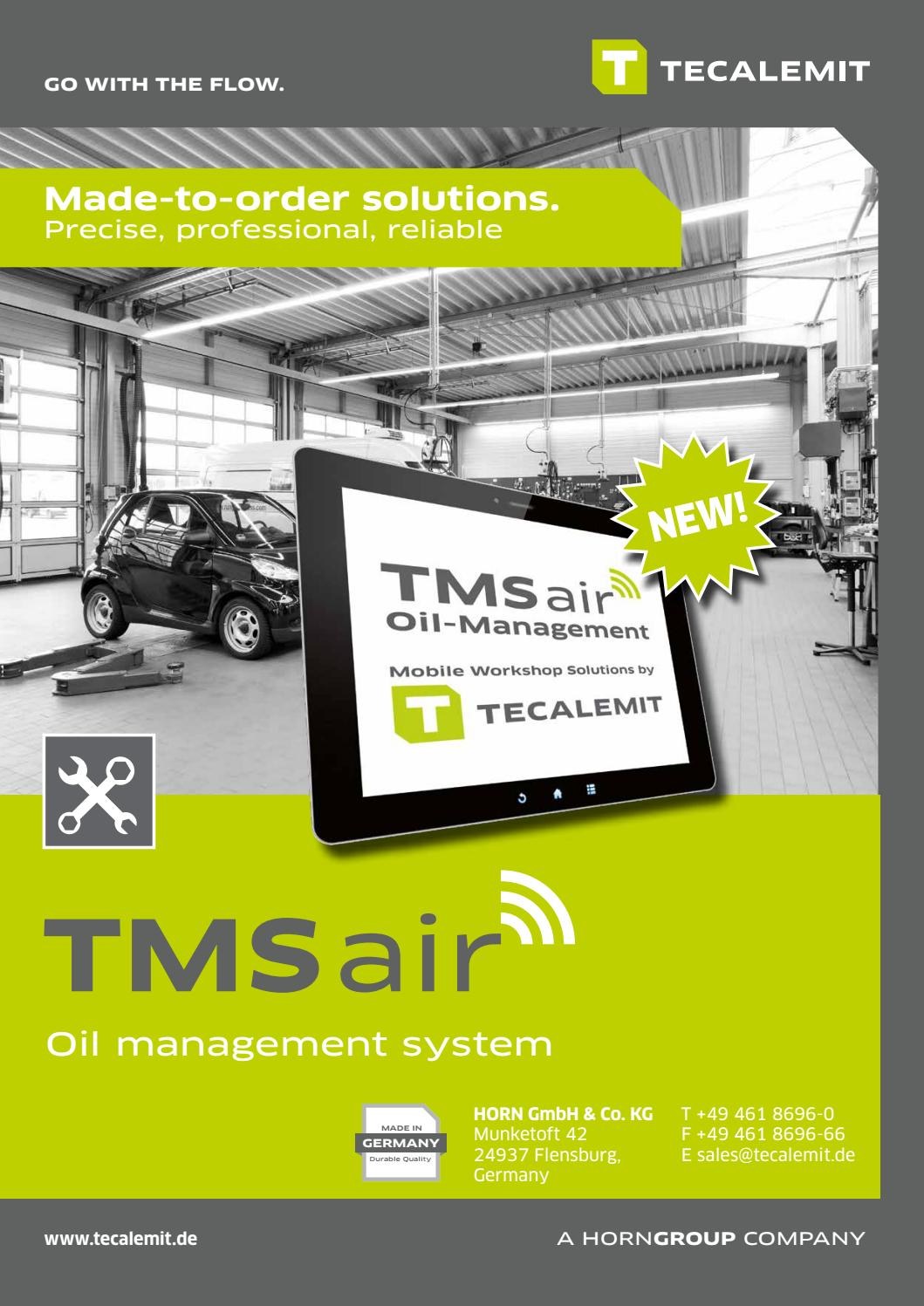tms air oilmanagment for workshops by horngroup issuu