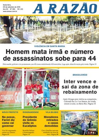 73732106e5 Jornal A Razão 09 09 2016 by Jornal A Razão - issuu