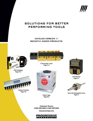 Progressive Components Production Tooling Catalog by