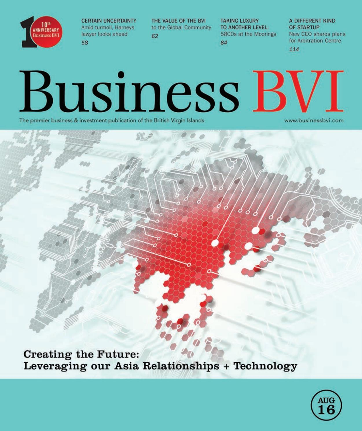 Business BVI August 2016 by Business BVI - issuu