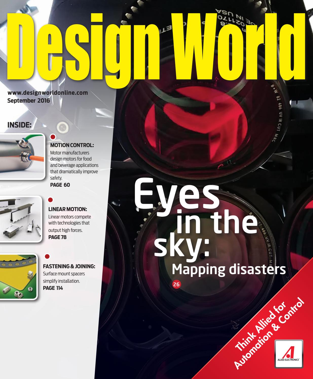 Design World September 2016 By Wtwh Media Llc Issuu Motorguide Mg 28 Wiring Diagram