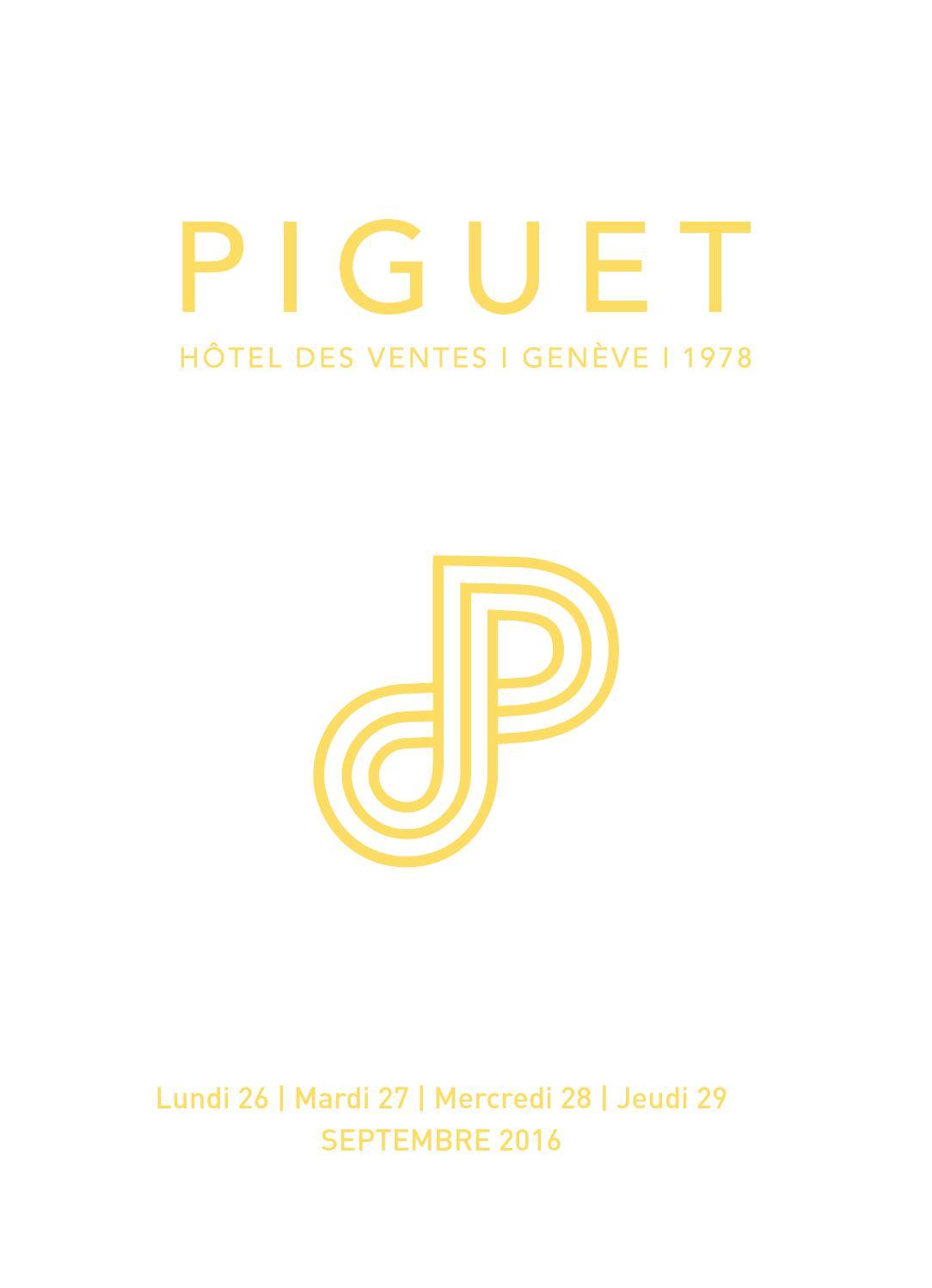 HDV Piguet vente sept 16 catalogue principal by Piguet Hôtel des Ventes    Genève - issuu 1c4fbb019b60